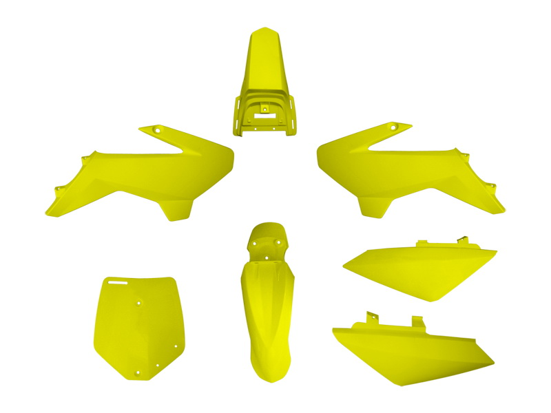 YCF PLASTIC KIT YELLOW