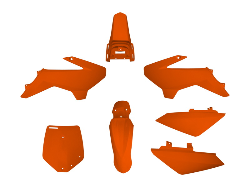 YCF PLASTIC KIT ORANGE