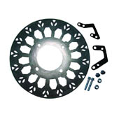 SUPERMOTO BRAKE DISC FRONT (240mm WITH LEG OFFSET)