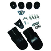 SUPERMOTO FOOTREST SLIDERS
